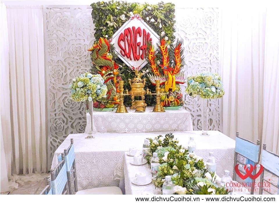 Trang trí nhà đám cưới