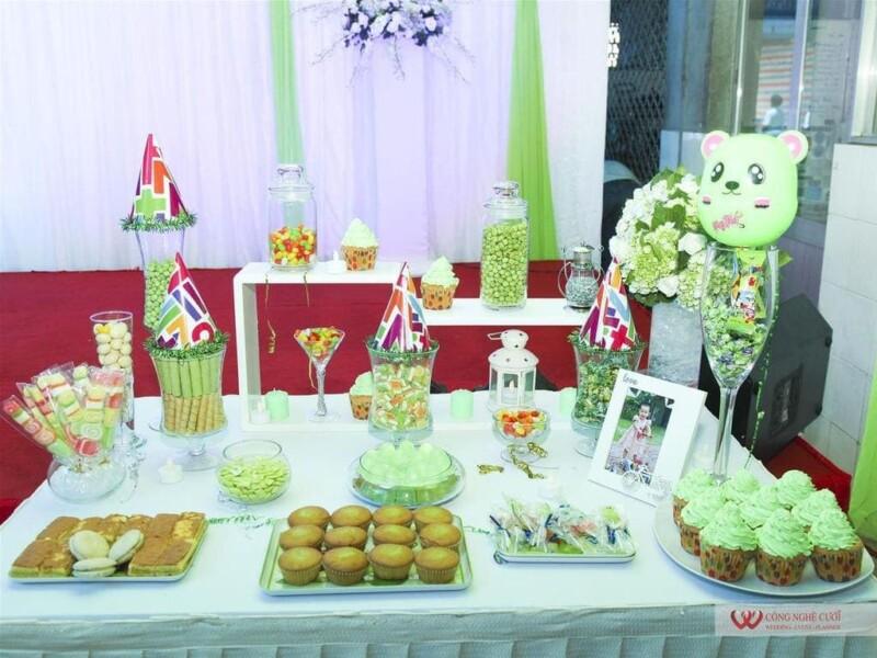 Trang Trí tiệc sinh nhật bé
