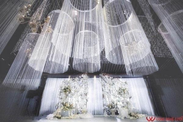 Backdrop chụp ảnh cưới - Trang trí tiệc cưới đẹp