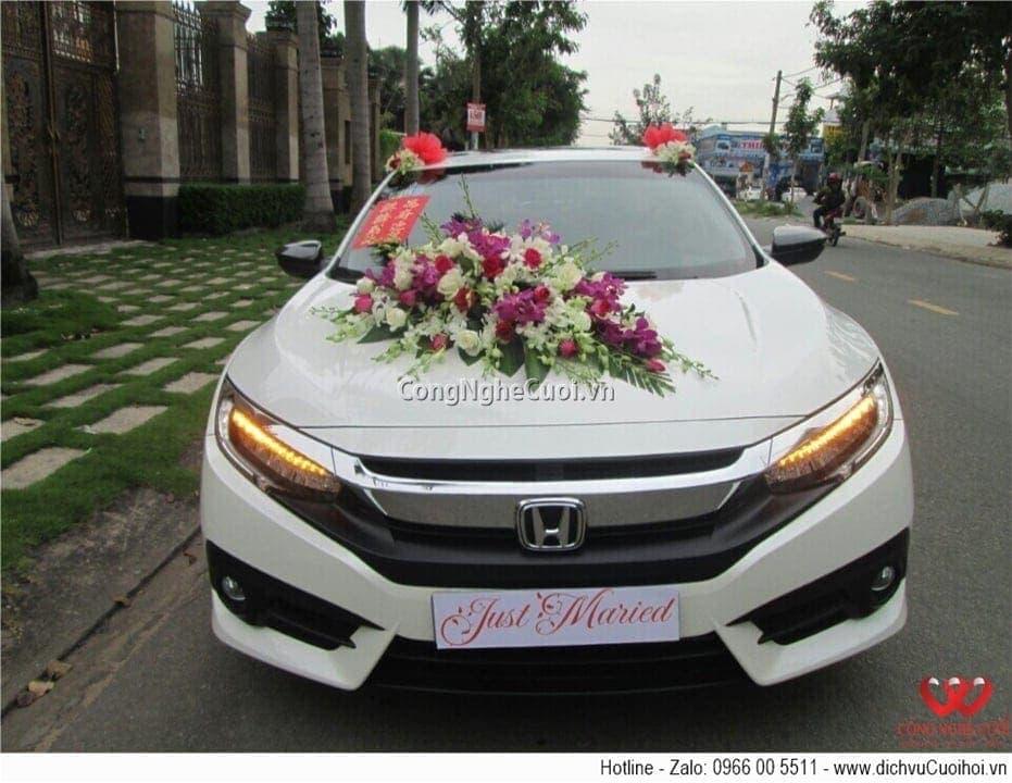 Cho thuê xe cưới - Honda Civic