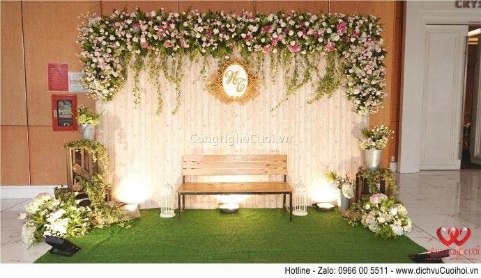 Trang trí backdrop chụp ảnh