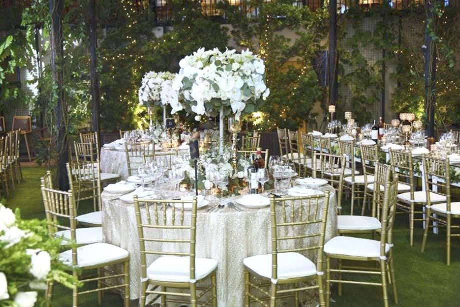Cho thuê bàn tròn ghế Tiffany