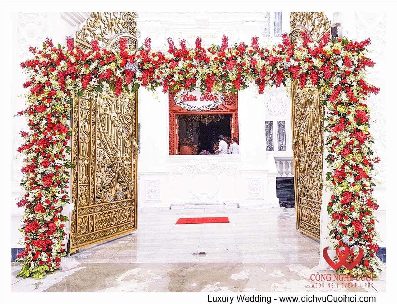 Trang trí đám cưới tại nhà - dịch vụ cưới trọn gói