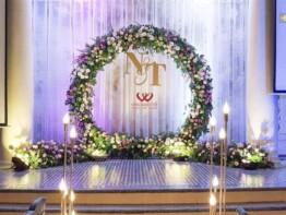 Trang trí sân khấu đám cưới