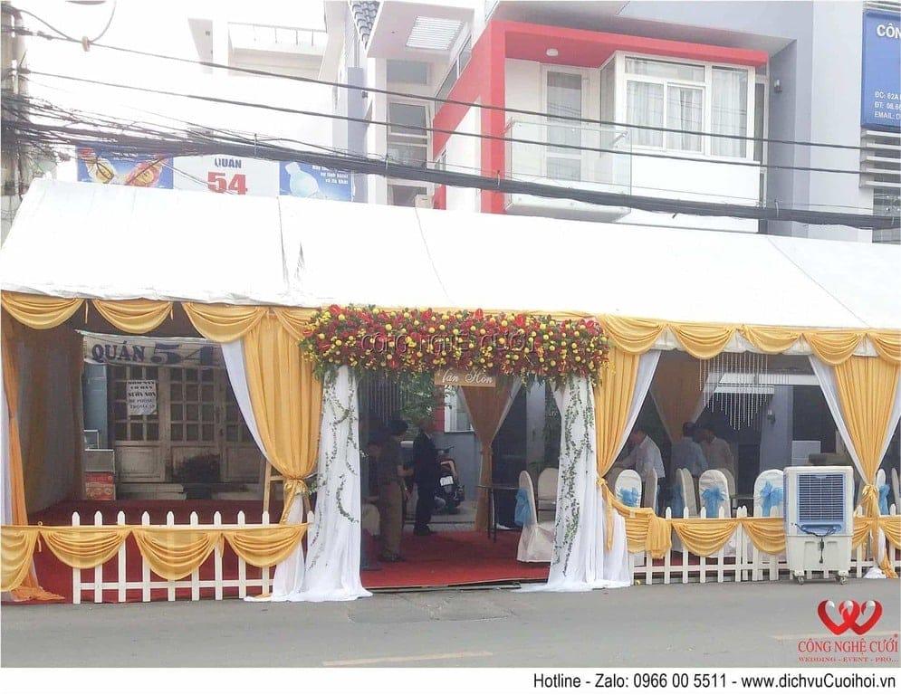 Công Nghệ Cưới chuyên cho thuê nhà bạt đám cưới, tổ chức sự kiện