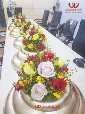 Kết hoa tươi nắp quả