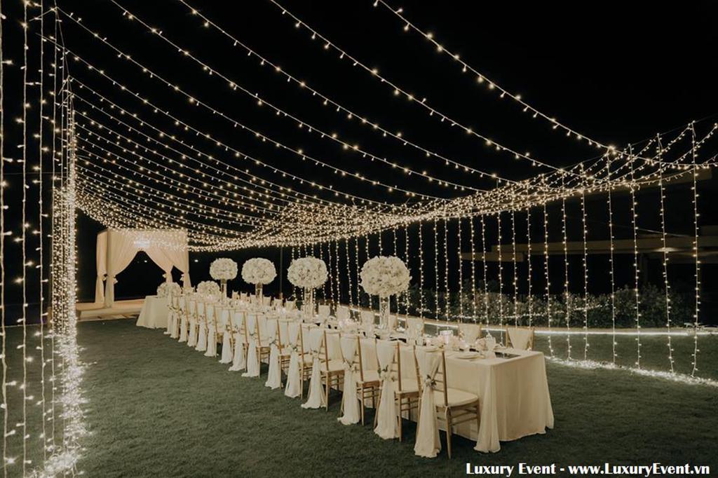 Trang trí lễ cưới, tổ chúc đám cưới ngoài trời, đám cưới biễn trọn gói