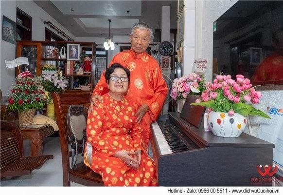 Tiệc kỷ niệm 50 năm ngày cưới