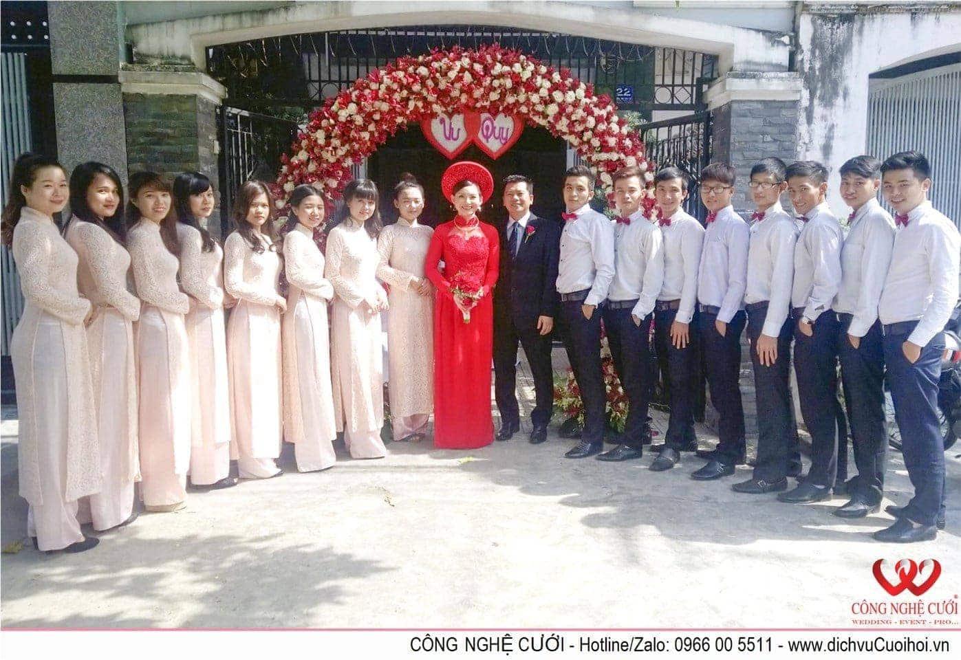 Dịch vụ cưới hỏi Quận Gò Vấp Tphcm - Công Nghệ Cưới