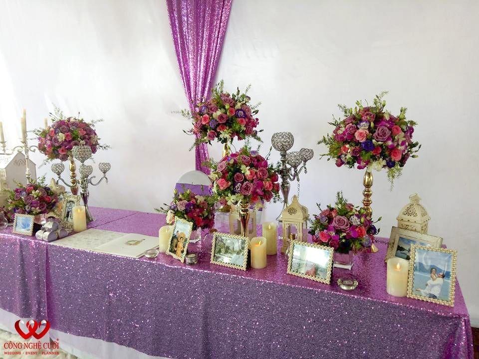 Công Nghệ Cưới - Trang trí tiệc cưới, dịch vụ cưới hỏi trọn gói