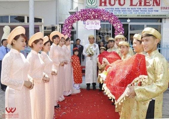 Trang trí lễ gia tiên, trang trí nhà đám cưới