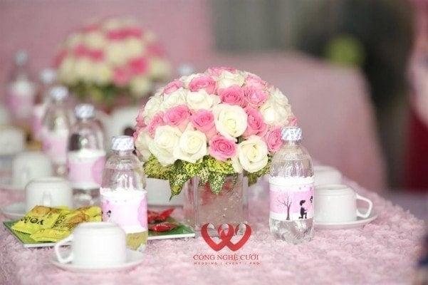Dịch vụ cưới hỏi, Mâm quả cưới hỏi trọn gói, trang trí lễ gia tiên
