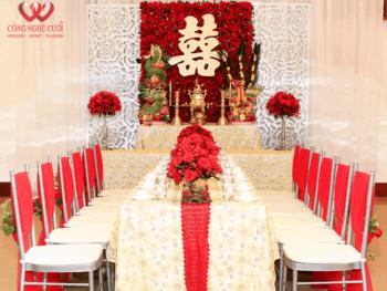 Dịch vụ cưới hỏi trang trí lễ gia tiên trọn gói