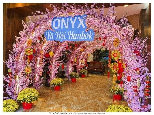 Tổ chức sự kiện tất niên ONYX Cosmetics
