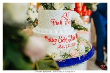 Mâm quả bánh kem, Trang trí lễ đính hôn trọn gói
