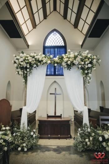 Tổ chức lễ cưới nhà thờ