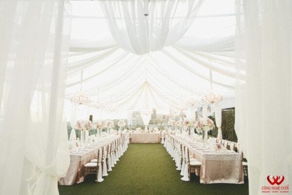 Cho thuê nhà bạt đám cưới