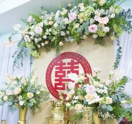 Dịch vụ cưới hỏi, trang trí tiệc cưới trọn gói