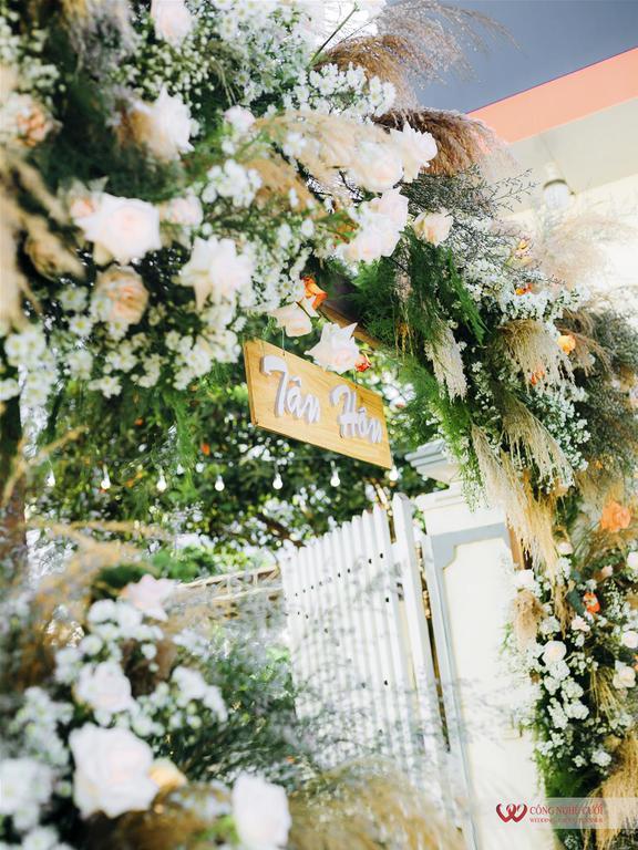 Trang trí lễ gia tiên đám cưới tại nhà