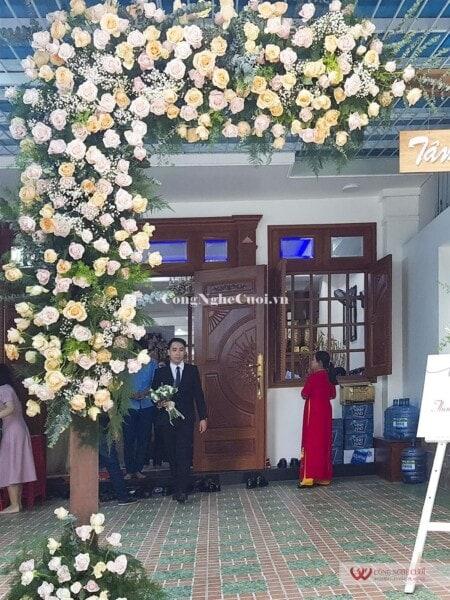 Trang trí lễ gia tiên cưới hỏi trọn gói