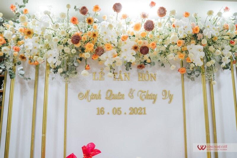 Trang trí lễ gia tiên đám cưới trọn gói