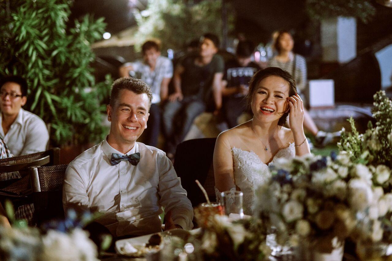 Tiệc cưới theme gốm sứ