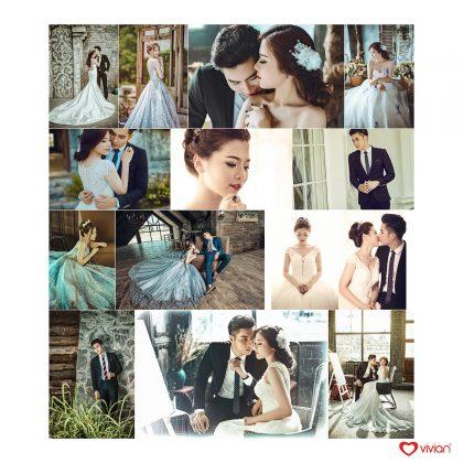 Phong cách ảnh cưới tạp chí