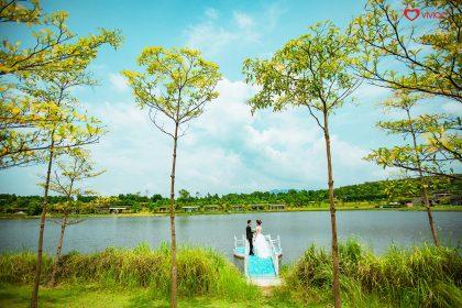Ảnh cưới tại nơi có phong cảnh lãng mạn
