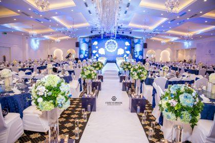 Không gian sảnh cưới