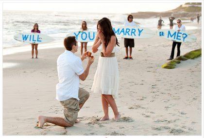 Cách cầu hôn lãng mạn và ngọt ngào