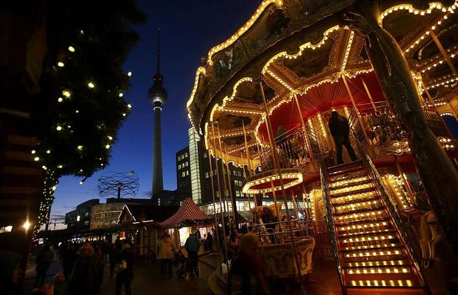 chợ Giáng sinh truyền thống