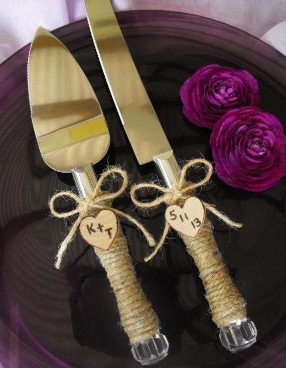 Tự trang trí thìa, nĩa, dao cắt bánh cưới