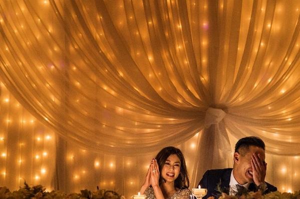 Không gian tiệc cưới