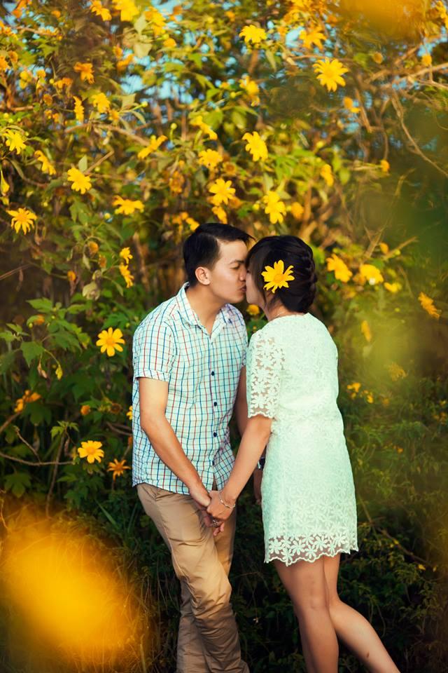 Ảnh cưới lãng mạn dã quỳ Đà Lạt