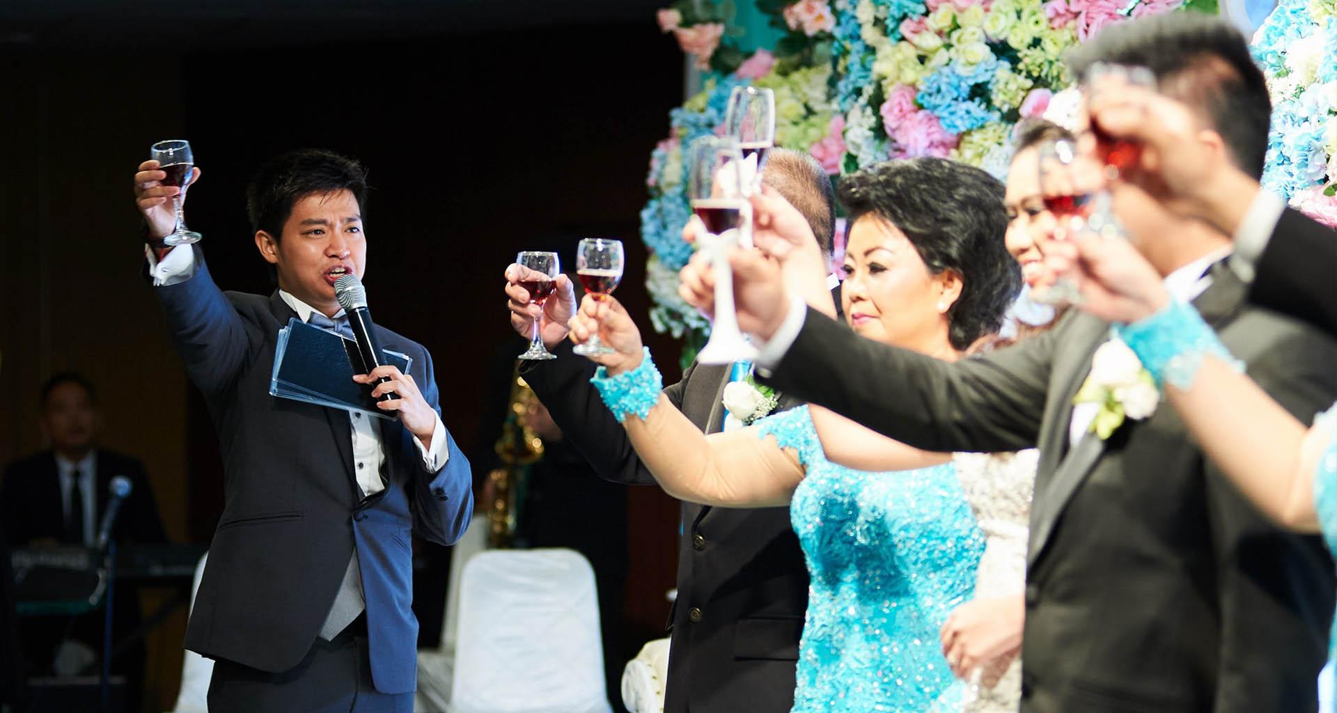 Tiêu chuẩn MC đám cưới chuyên nghiệp