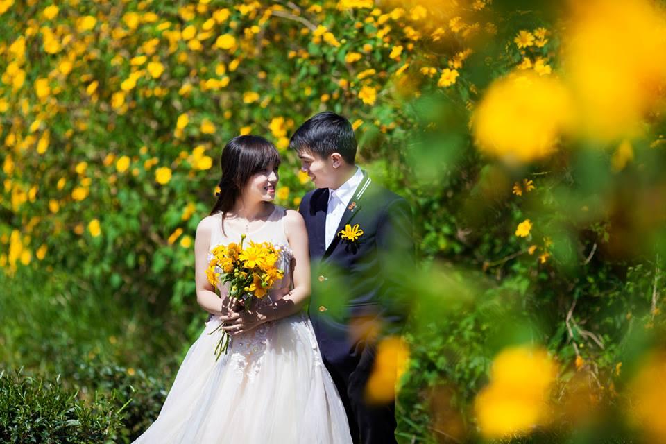 Ảnh cưới dã quỳ Đà Lạt
