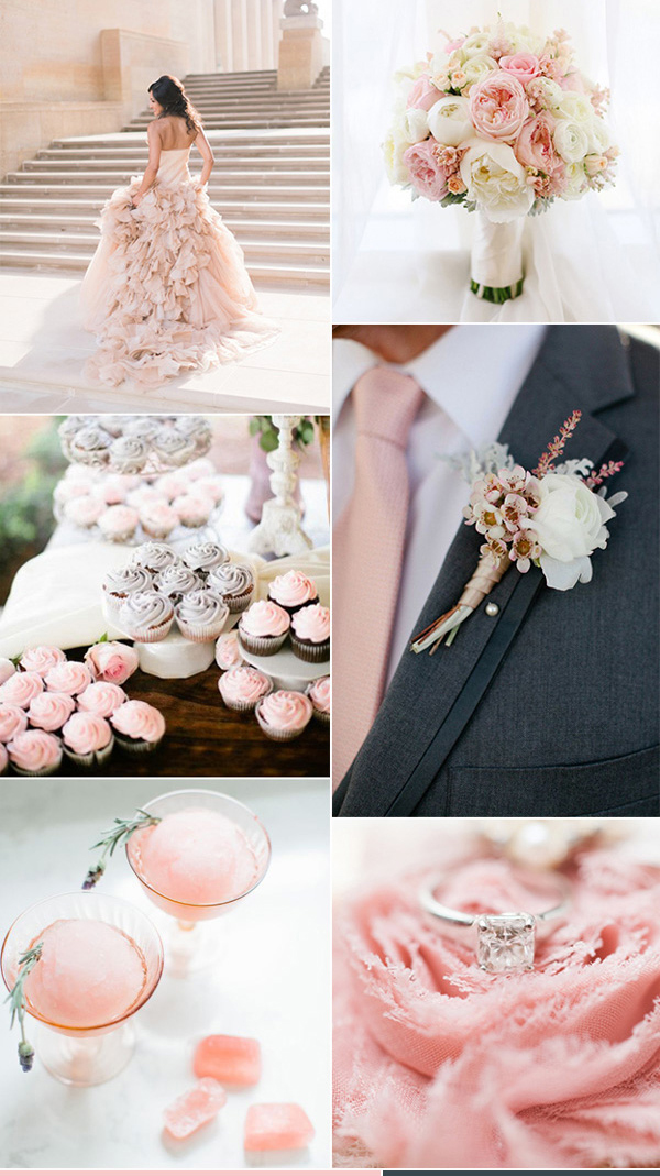 Theme tiệc cưới màu hồng
