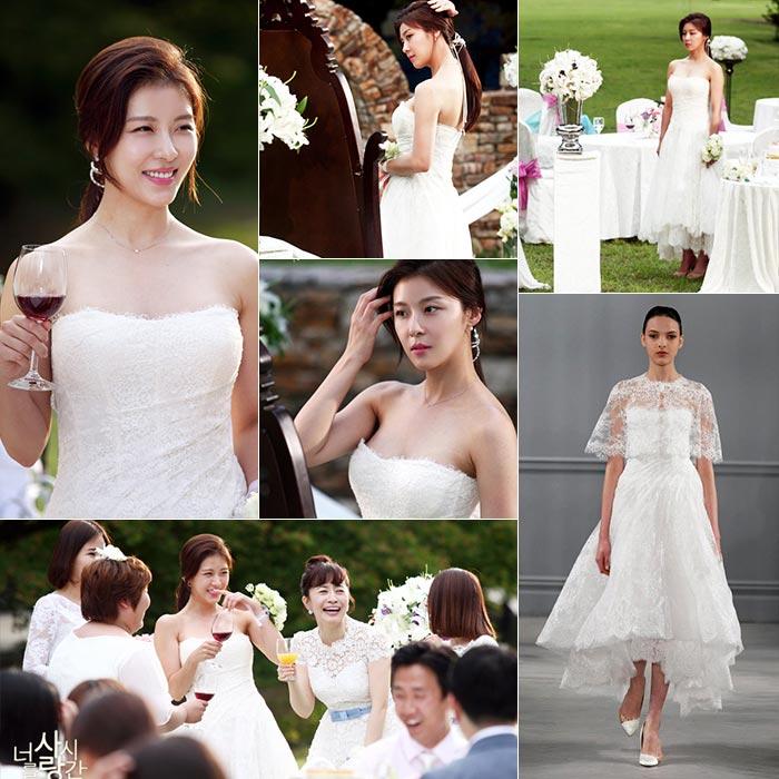 Váy cưới đẹp trong phim Hàn quốc