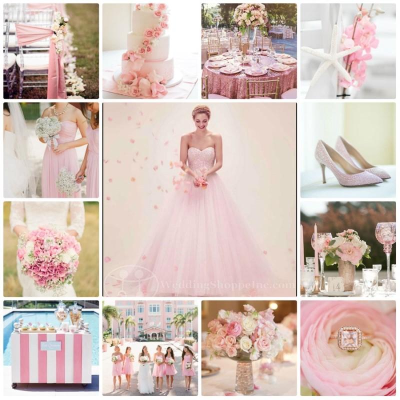 Màu hồng cho đám cưới của cô nàng Cự Giải