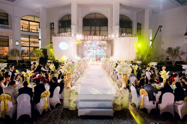Đám cưới có quy mô khách mời vừa phải