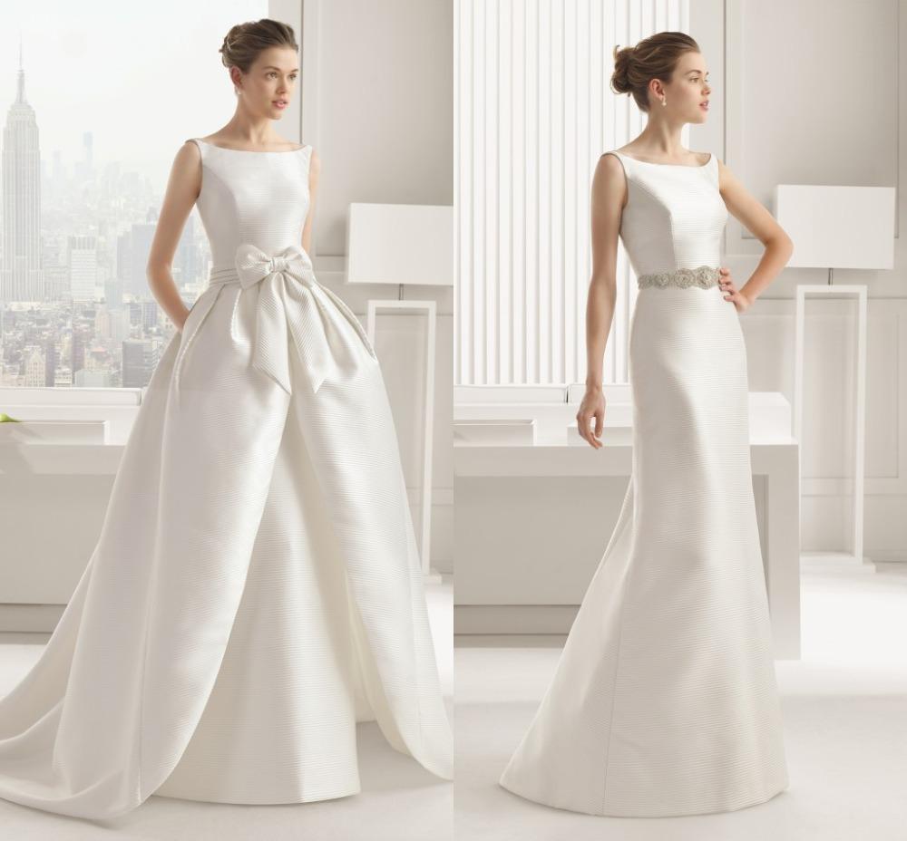 Váy cưới vai ngang