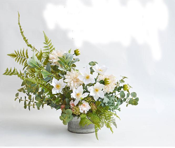 DIY tự cắm hoa