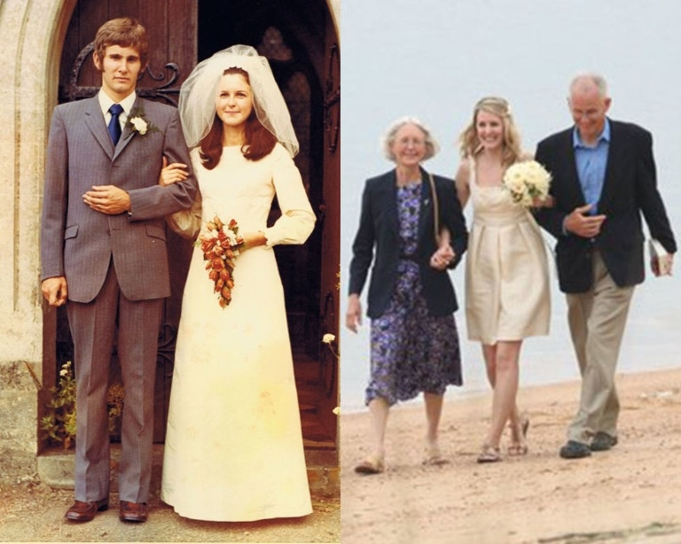 Tái sử dụng váy cưới cũ