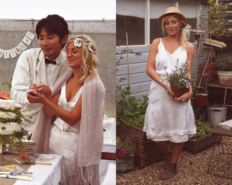 Tái sử dụng váy cưới