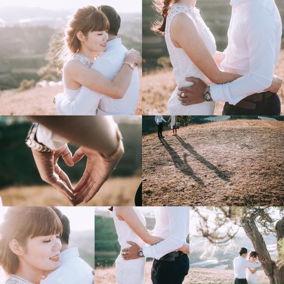 Ảnh cưới đơn giản cho mùa Valentine.