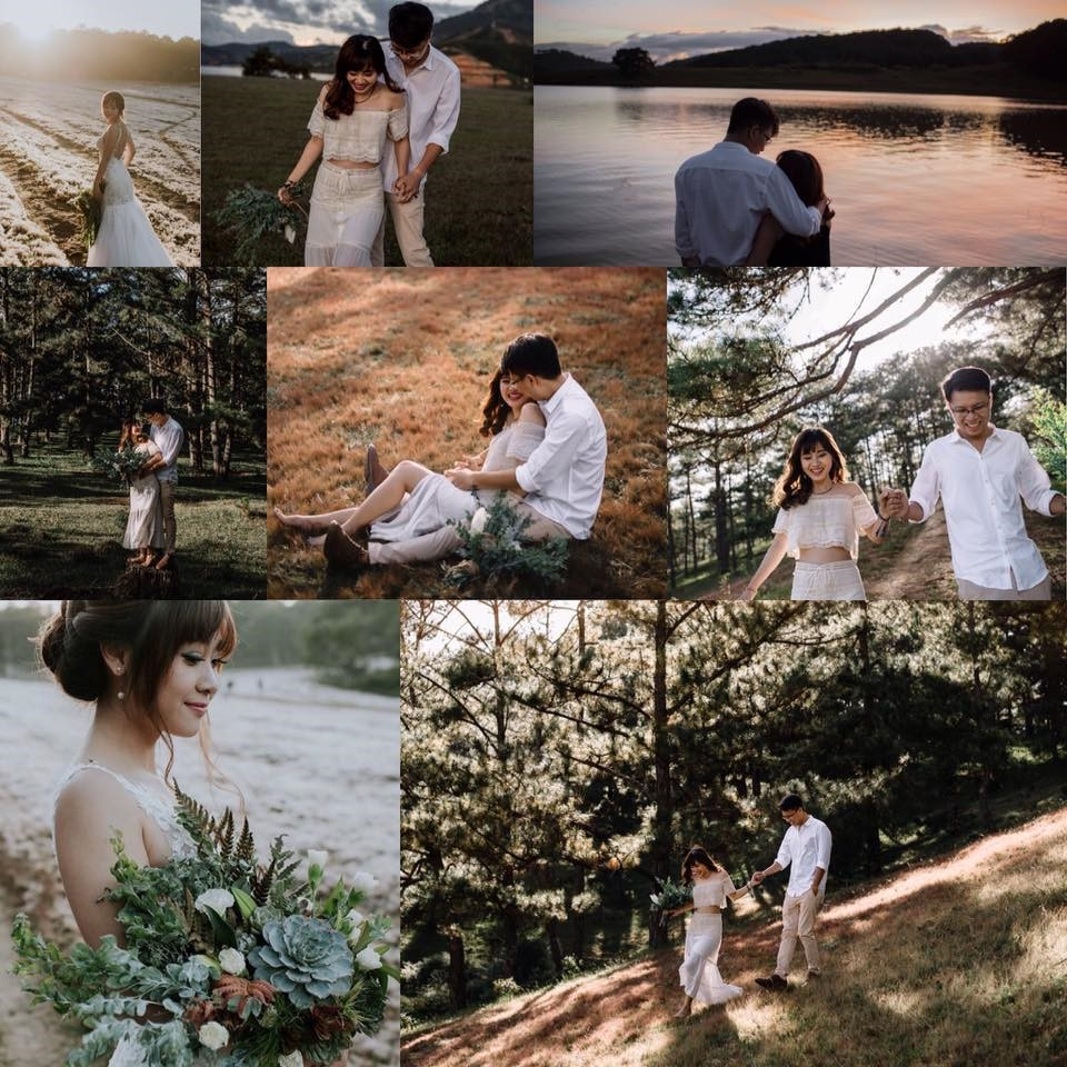 Chụp ảnh cưới mùa Valentine 2017