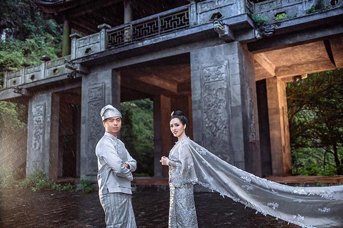 [Caption]Chú rể Phyo Kyaw Lin Khin hiện là một doanh nhân thành đạt.