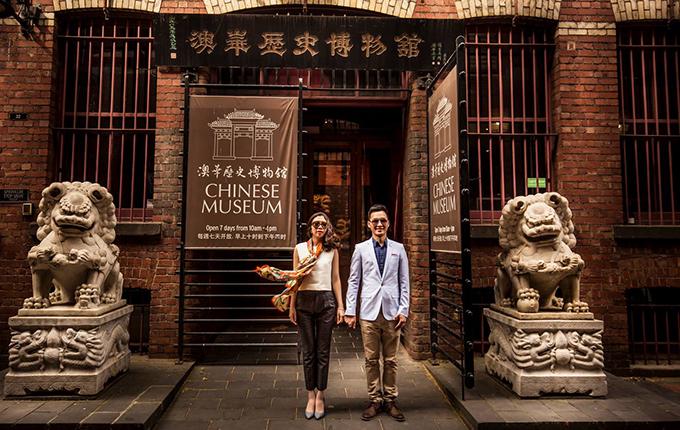 [Caption]Đám cưới của đôi uyên ương đã diễn ra ngày 19/3 vừa qua. Trước đó 6 tháng, họ kỳ công mời ê kip chụp ảnh từ Việt Nam sang để thực hiện bộ ảnh cho ngày trọng đại.