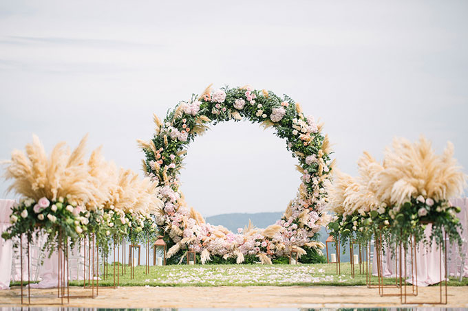 Cổng hoa hình tròn: Không chỉ để trang trí, đó là biểu tượng của vĩnh cửu - 1