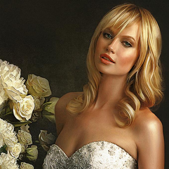 Ảnh cưới Digital painting: Vừa nghệ thuật lại không đụng hàng - 8